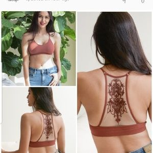 Other - Tattooed Mesh Bralette